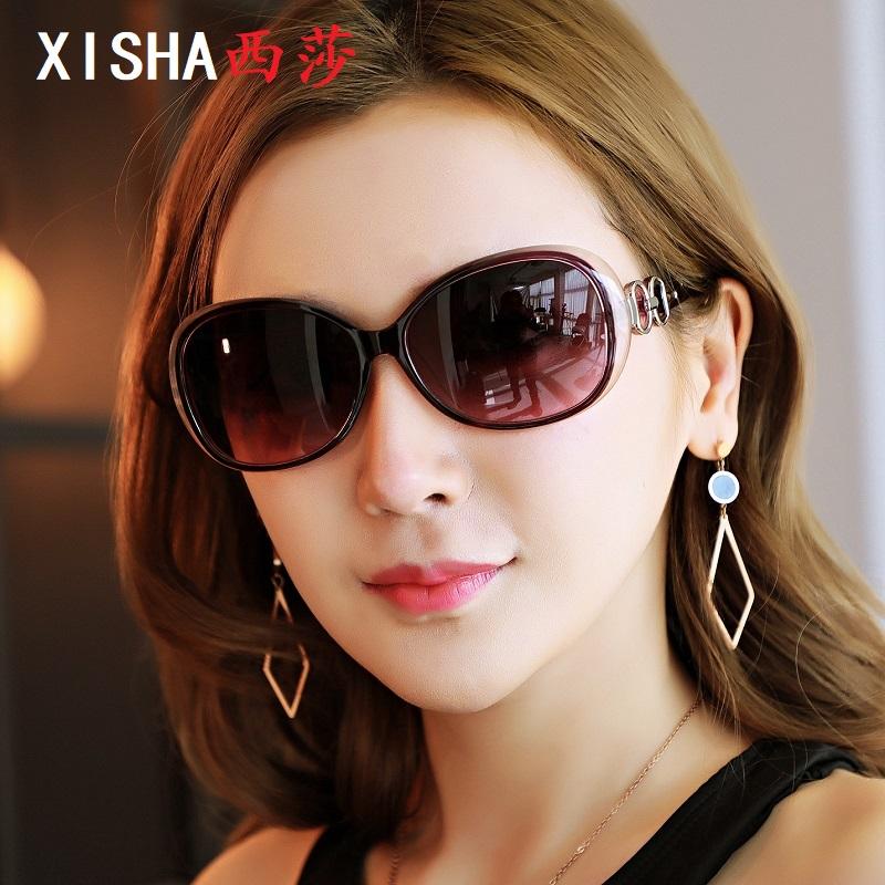 2021新款女式偏光变色太阳镜开车挡风眼镜日夜两用防紫外线墨镜潮