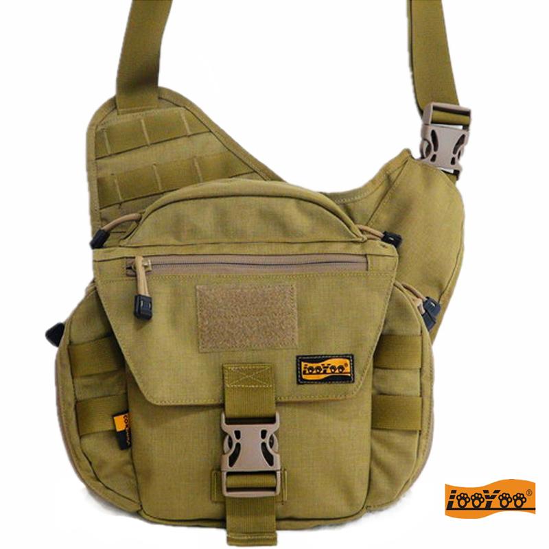 looyoo/A58鼓形鞍袋包个性摄影单肩背包/挎包/相机包欧美风尼龙包