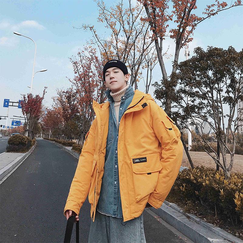工装棉衣男潮2019新款韩版学生加厚棉袄短款外套冬季棉服潮牌ins