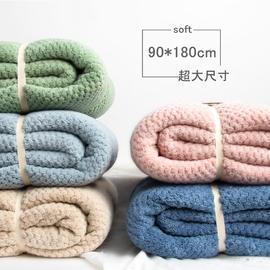 日本浴巾加大款家用男女婴儿新生裹胸超大号比纯棉吸水速干不掉毛图片