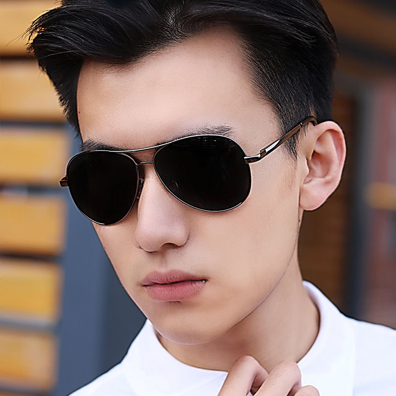Sunglasses for mens driving special glasses day and night dual purpose color changing Sunglasses night vision polarized driving glasses fishing driver trend