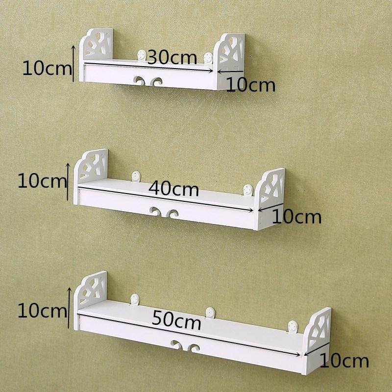 甲油胶美甲放置整理架壁挂式护肤品架子陈列展架置物架简约多功能