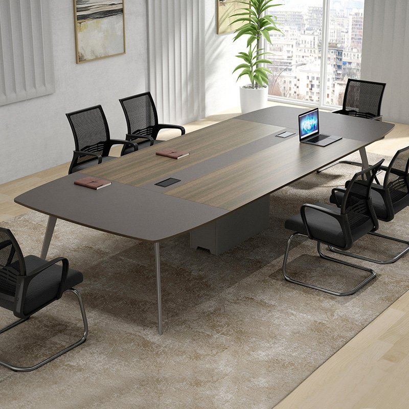 Desk simple modern long table long table conference room table workbench negotiation table chair combination conference table