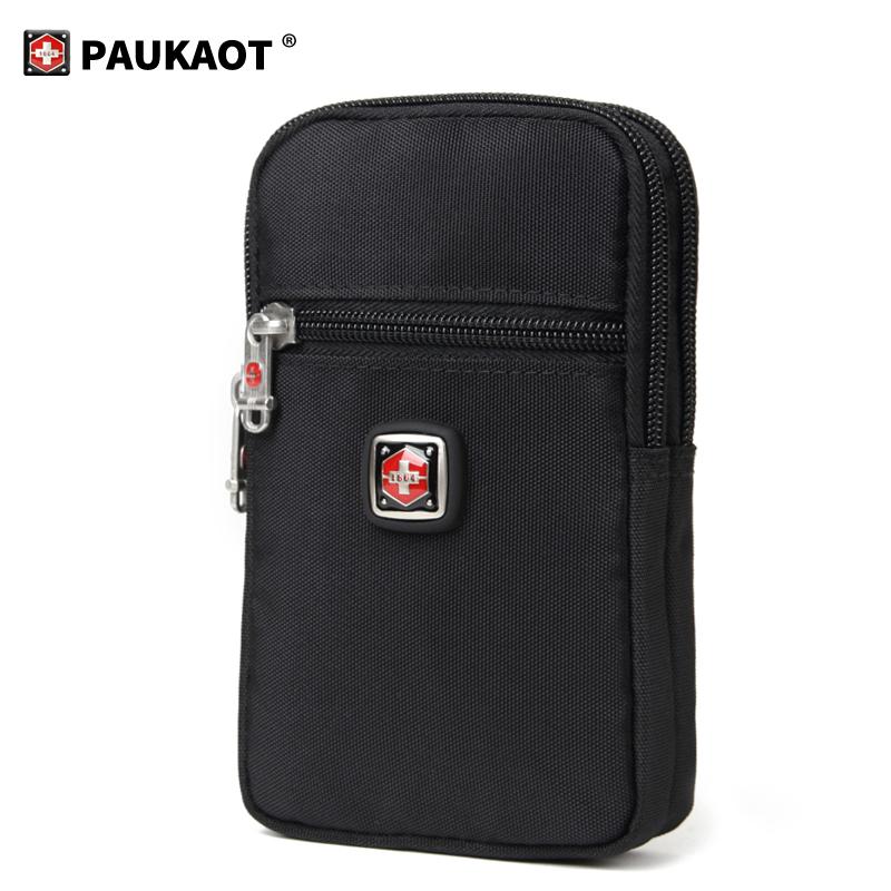 PAUKAOT手机包腰包男多功能穿皮带户外战术手机腰包零钱钥匙挂包,可领取5元天猫优惠券