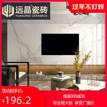 远晶连纹大板瓷砖900x1800客厅墙砖大理石地砖电视背景墙简约现代