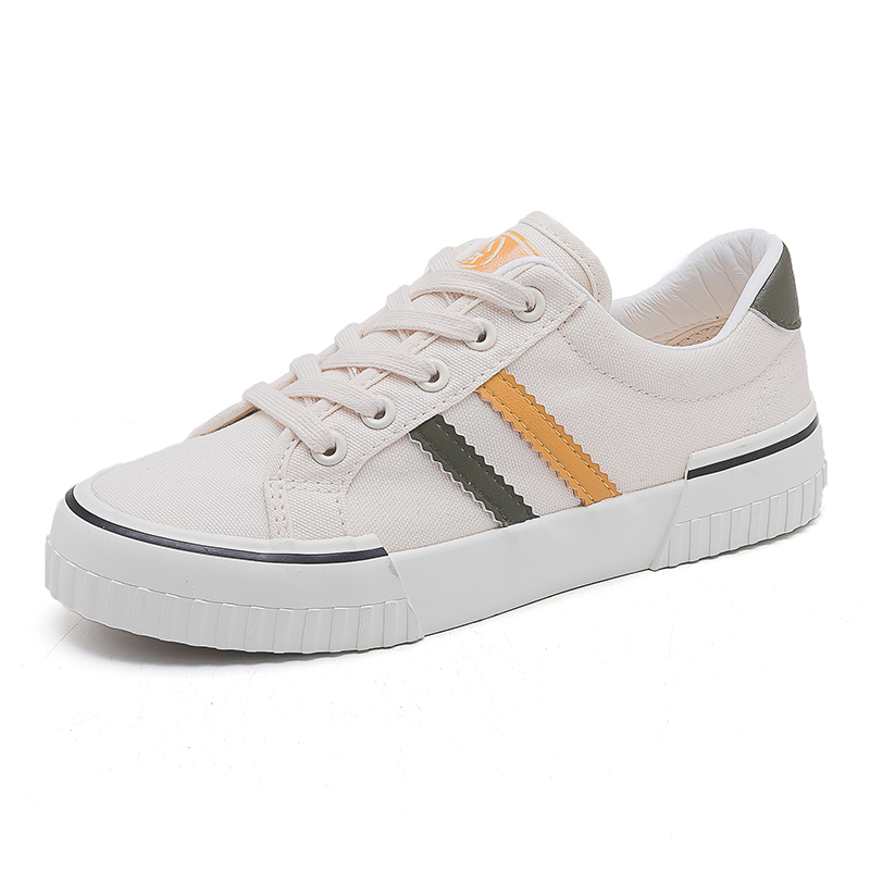 Human based canvas shoes for women 2020 new Korean version ulzzang low top versatile student cloth shoes board shoes small white shoes for women