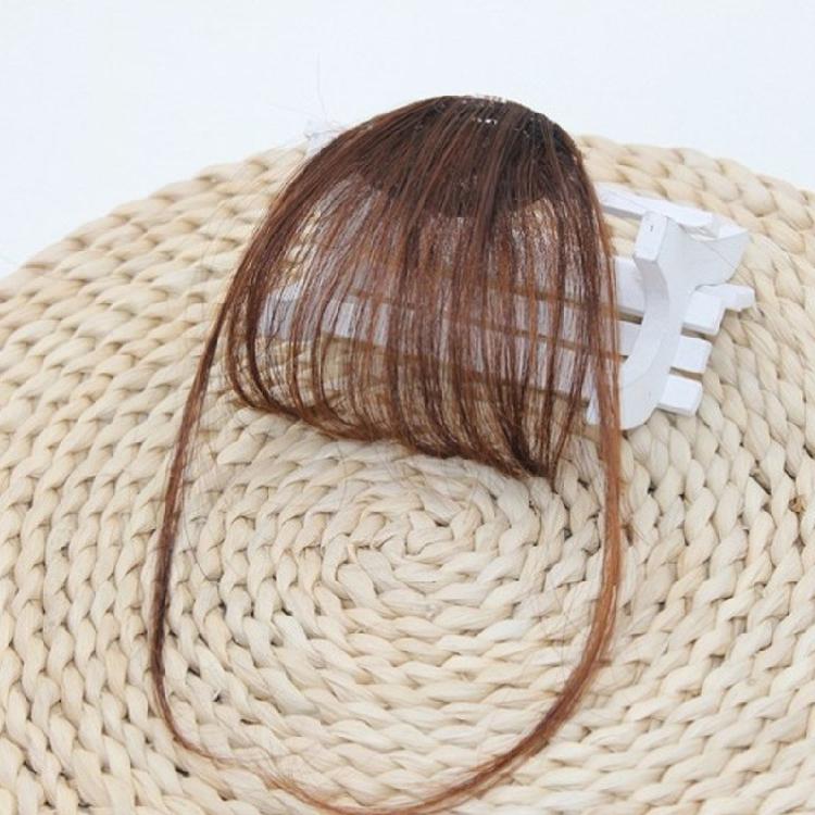 网红法式刘海假发女头顶真发补发块刘海假发片自然无痕3D空气刘海