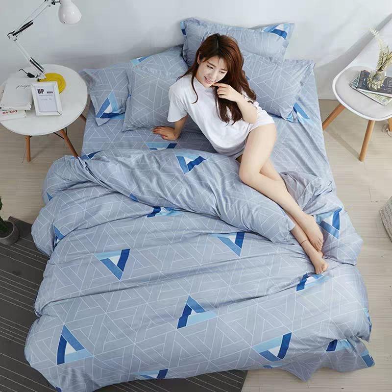 【特卖 亲肤被套四件套】被套单件被罩床单双人床上用品单人被套