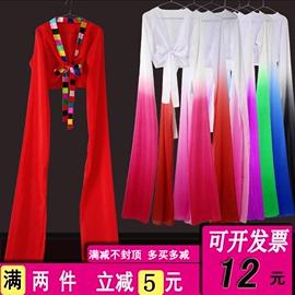 水袖上衣女惊鸿舞蹈服古典舞甩袖练功服戏曲藏族儿童袖子演出服装