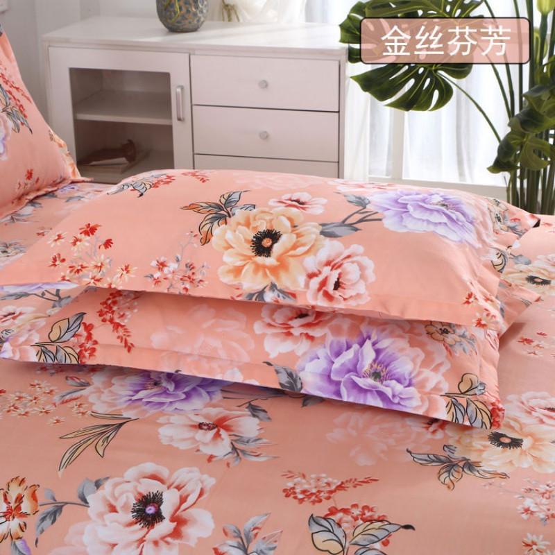 枕套一对装拉链式信封式单人磨毛加大成人枕头套枕头皮床上用品