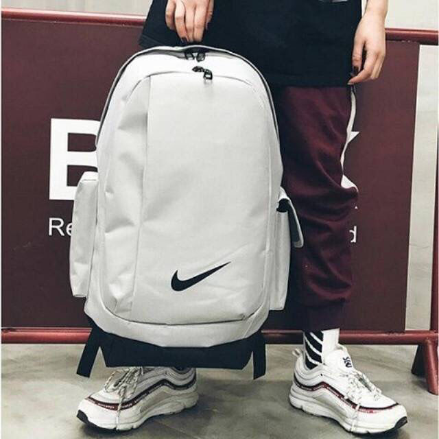 Large capacity new backpack campus schoolbag Korean outdoor sports bag men and women Canvas Backpack junior high school