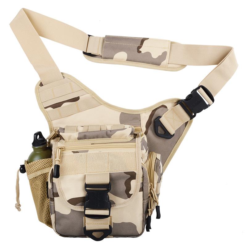 。顿巴 单反相机包多袋防水多功能斜挎包男女户外工具包鞍袋包