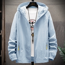 2020 summer couple new men's trend casual versatile sunscreen clothing fashion Youth Daily thin coat