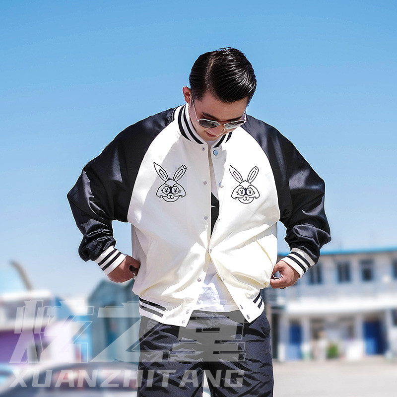 Playboy jacket mens 2020 new fashion brand loose sports casual coat thin fashion spring and autumn womens wear