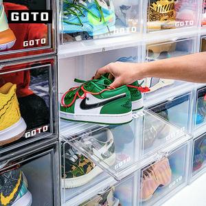 goto鞋盒透明款侧开展示篮球鞋鞋架