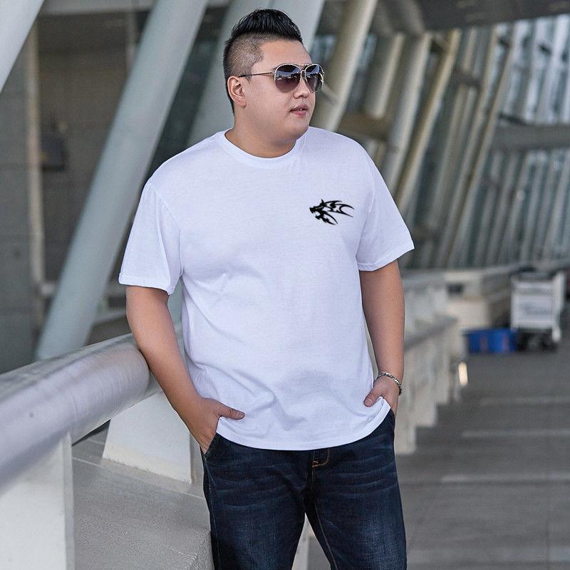 男士短袖t恤男夏季圆领纯棉男t潮牌大码男装体恤青年打底衫短袖男