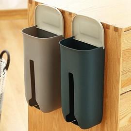 垃圾袋收纳盒神器装放塑料袋收集器壁挂厨房方便袋子抽取式免打孔