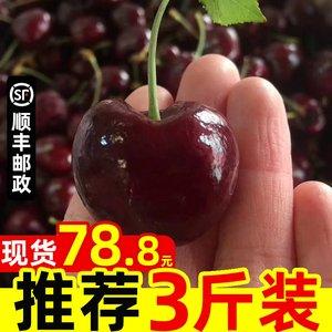 智利进口车厘子新鲜水果包邮当季孕妇特大果樱桃JJJ车里子3斤整箱