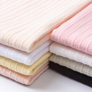 提花棉麻布料直条纯棉衬衫衣服面料