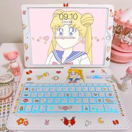 艾思度ipad第五代保护套带键盘12.9苹果2020平板电脑6壳2019新款10.2寸air3/2可爱11pro少女心7/8蓝牙mini4/5