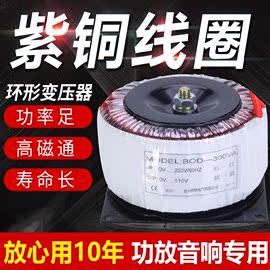 环形变压器隔离牛BOD-300w/600W环牛音响功放220转变48v双24v12V