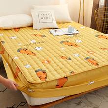 防水床笠床罩单件隔尿透气床垫罩加厚夹棉防尘床罩套席梦思保护套