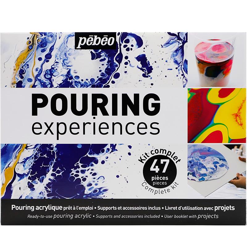 Fluid painting pigment set propylene medium DIY zero base painting propylene pigment tool 8-color set liquid
