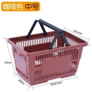 购物篮环保折叠野餐篮牛津布双层菜篮子手提超市篮可印LOG