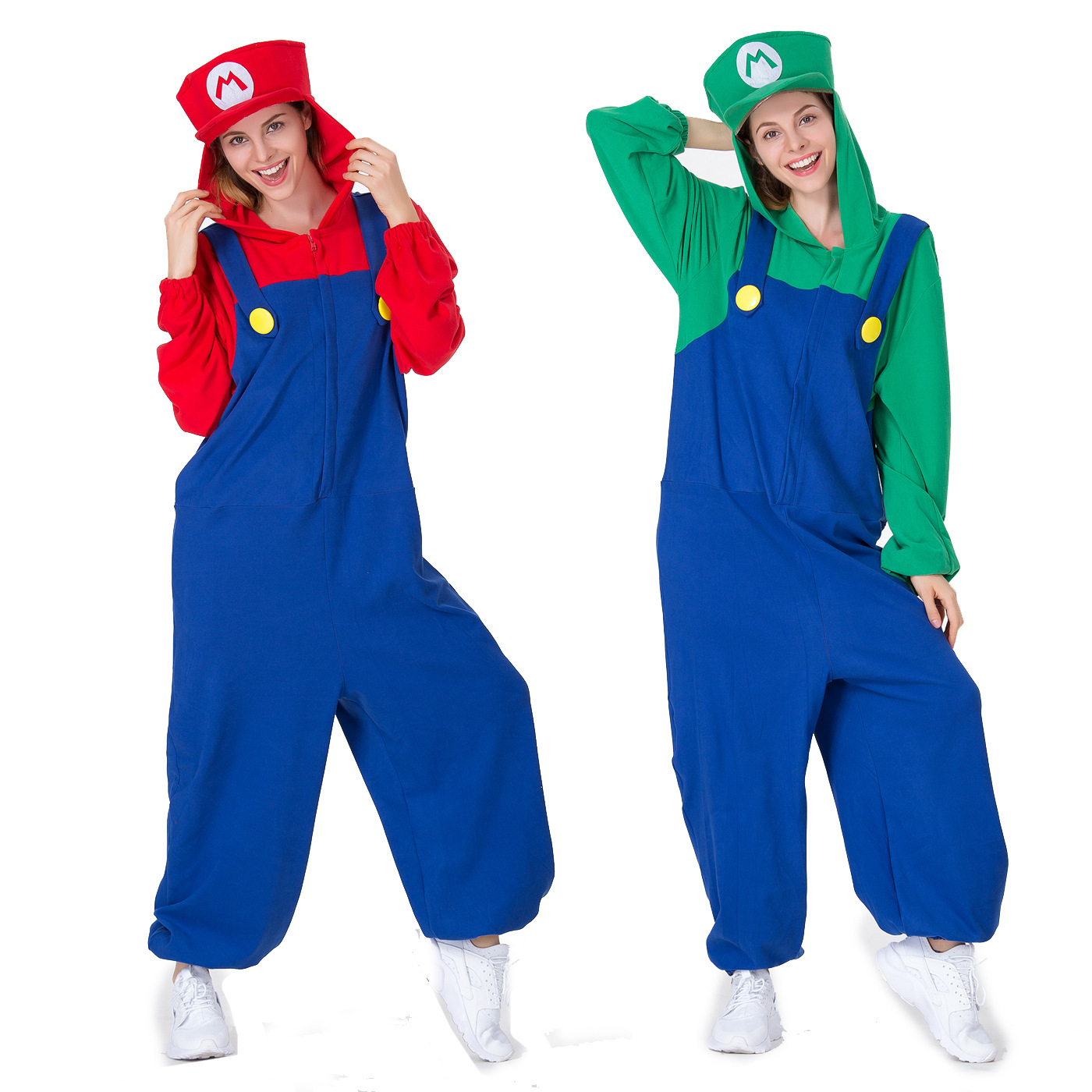コスプレはハロウィンの衣装で、マリオールの水道労働者がゲームをする服です。