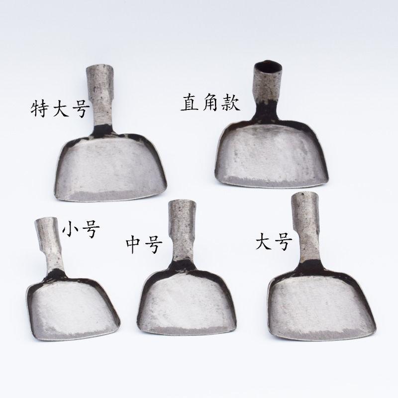 传统锅铲不锈钢中式加厚食堂炒菜铲子老式锻打防烫烹饪炊具不沾锅