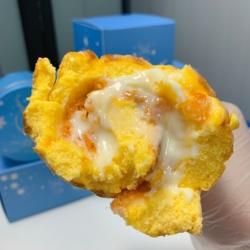 一只澜 虎皮肉松卷 虎皮蛋糕沙拉卷网红爆浆甜品盒子蛋糕早餐零食
