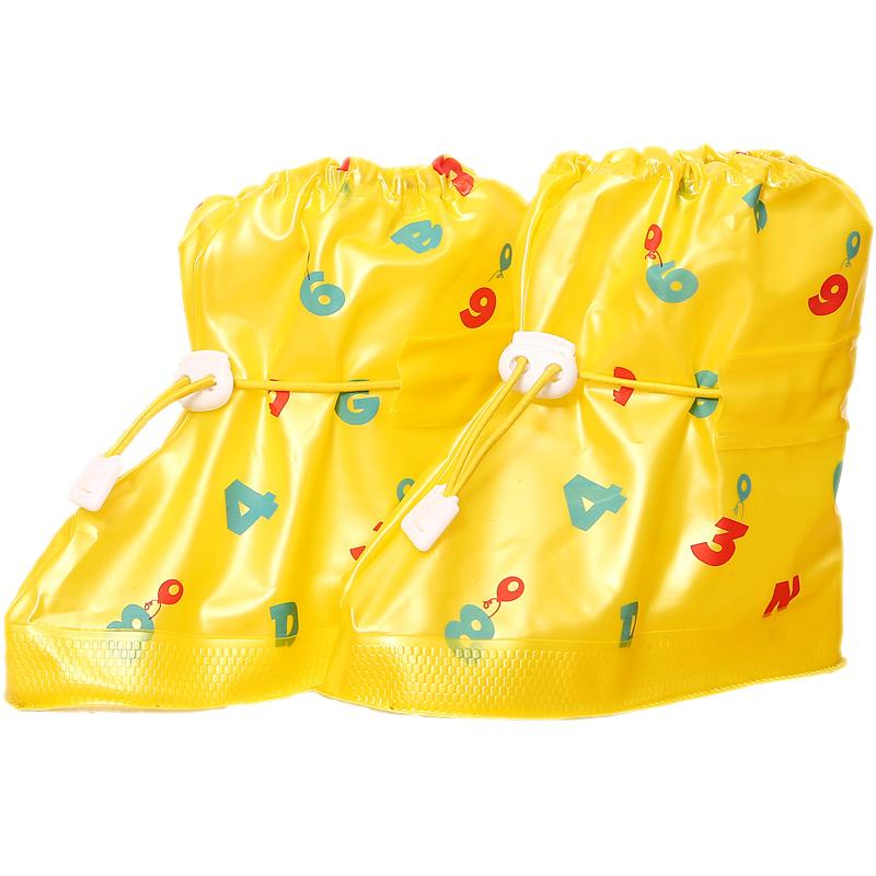 雨天儿童防水防雨鞋套 小孩子加厚防滑耐磨雨鞋套 幼儿园防沙鞋套