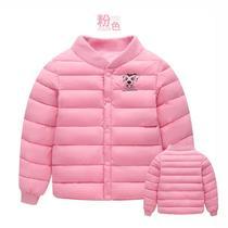 2018新款童装秋儿童棉服男女童短款棉袄宝宝内胆棉衣外套