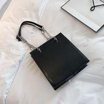 新款潮韩版高级感简约单肩手提包托特包2019高级感大容量女大包包