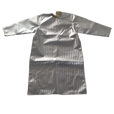 高档防辐射围裙阻燃反穿衣防火隔热防护服热1000度隔热耐高温铝箔