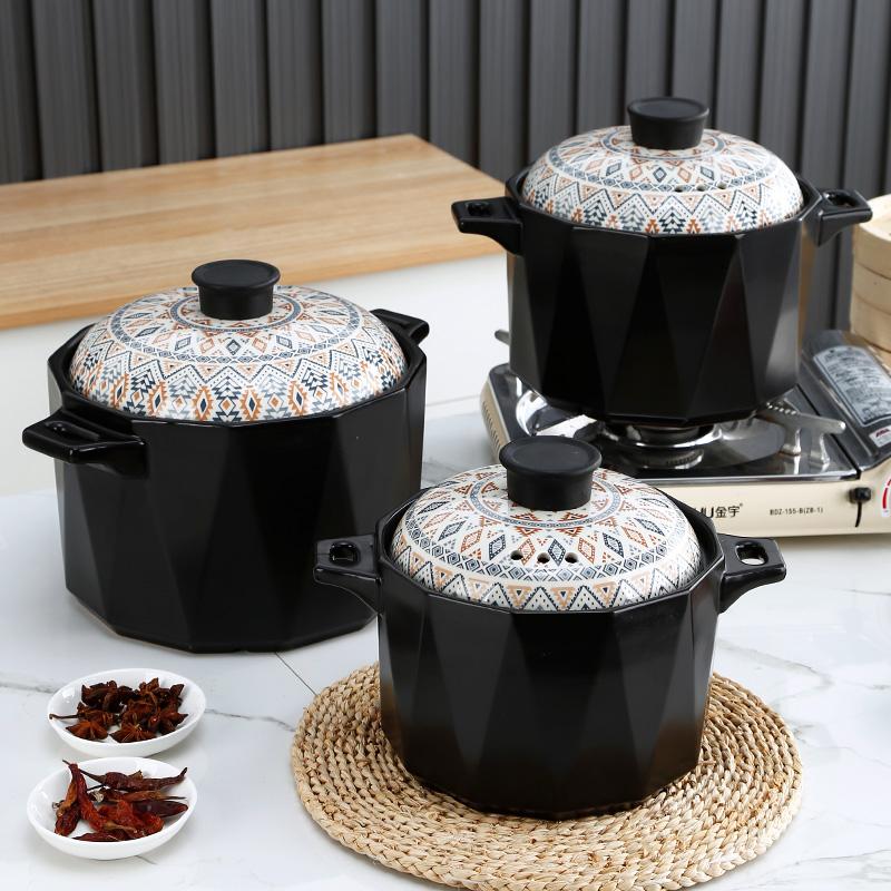炖锅家用煲汤耐热耐高温陶瓷煤气灶用后反馈