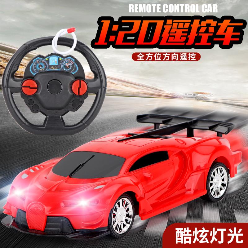 1遥控汽车充电无线遥控车赛车漂移小汽车模电动儿童玩具车q