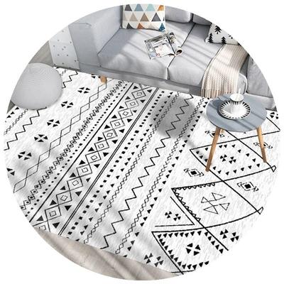 房间地毯全铺客厅可擦洗茶几垫北欧风格地垫防水可擦免洗卧室床边