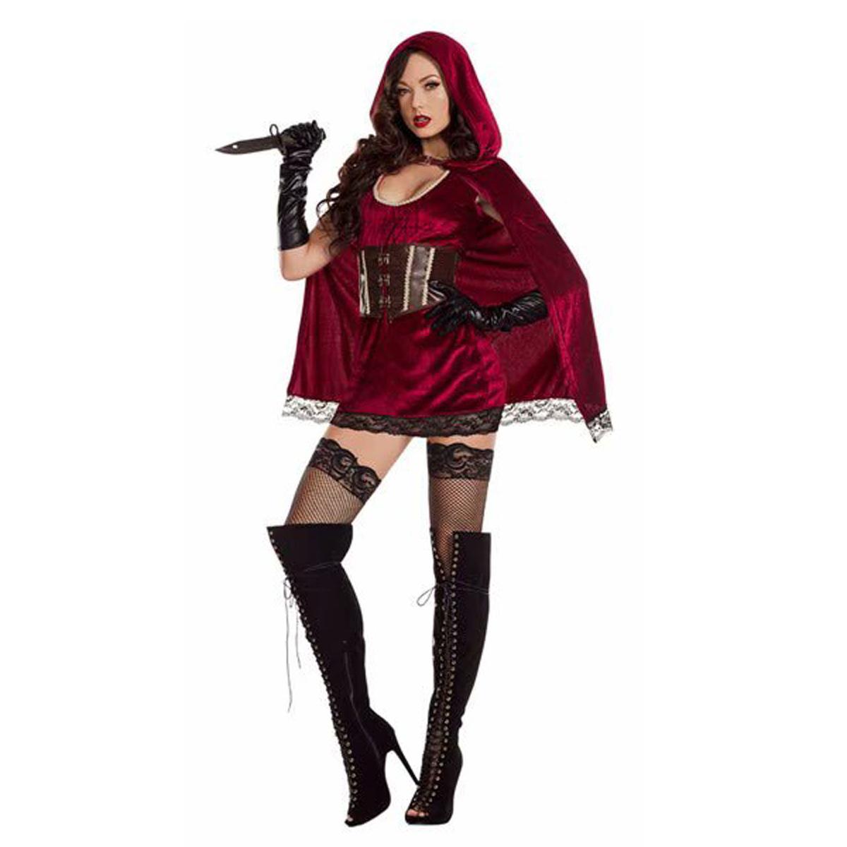 王装制服成人角色扮演服城堡万圣节Cosplay新款小红帽服装女