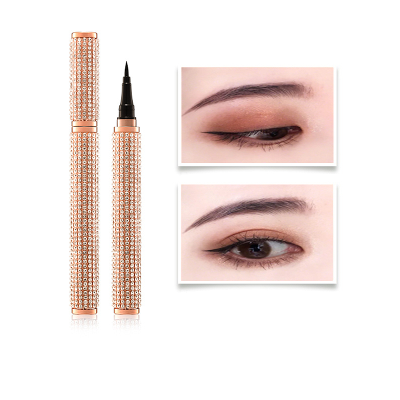 HANRU Han Ru starry eye Eyeliner Pen is not dyed, waterproof, sweat proof, new novice beginners Fine Eyeliner Pen