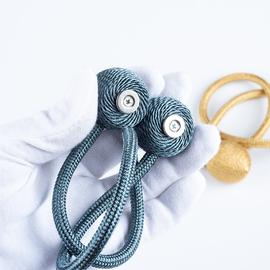 窗帘绑带一对装绑绳免打孔扎带束带磁铁简约现代创意绕线造型绑扣图片