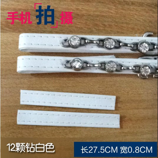 Chinese fashion buckle strap womens sandals ankle anti drop strap shoelace high heeled shoes accessories anti drop shoe chain does not follow