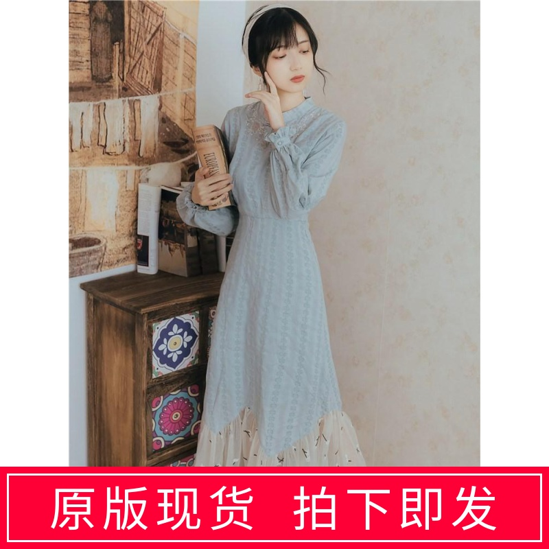 Hanfu spring women's dress fairy sweet with overcoat skirt with retro young improved cheongsam