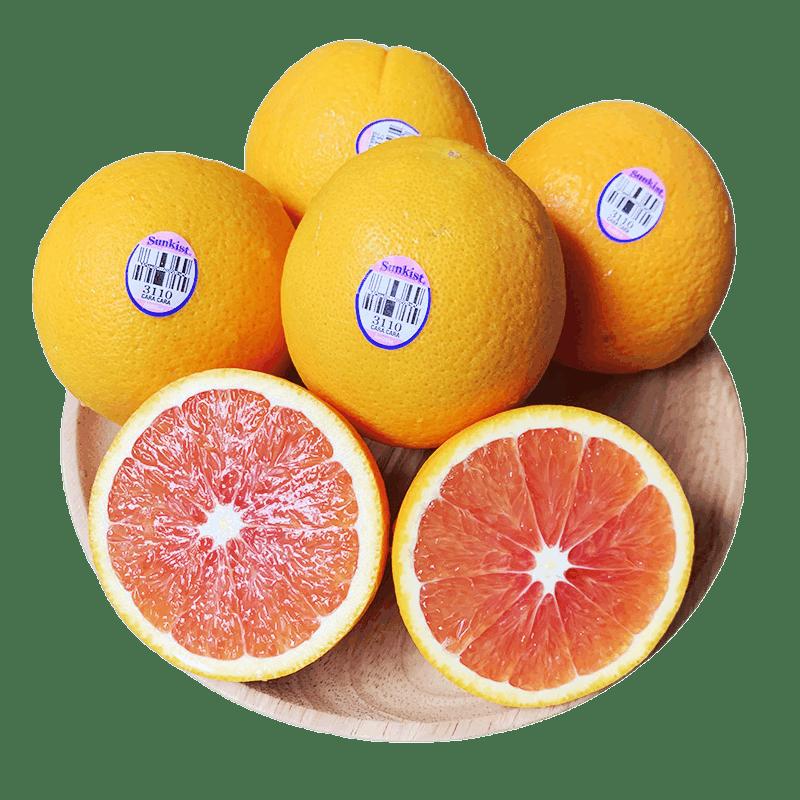 美国新奇士进口血橙10个3110橙子红心脐橙进口新鲜水果澳橙