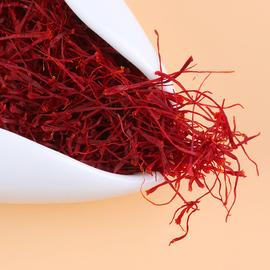 宸熹藏红花正品特级西藏泡水喝伊朗红花正宗西红花茶番红花臧红花图片