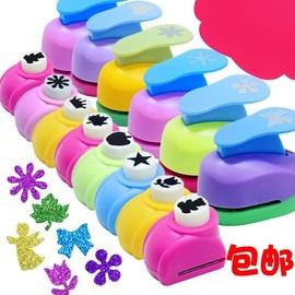 儿童花瓣镂空打孔手工制作工具印花机压花器打印材料小型心形