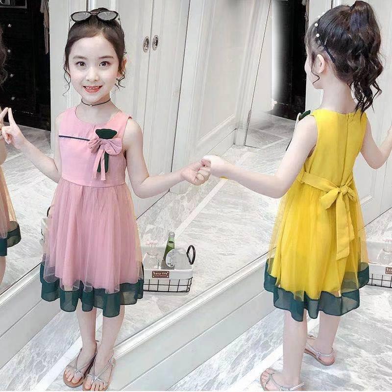 中國代購 中國批發-ibuy99 长裙 女童连衣裙夏季2021新款儿童装裙子公主裙夏装超洋气长裙中大童潮