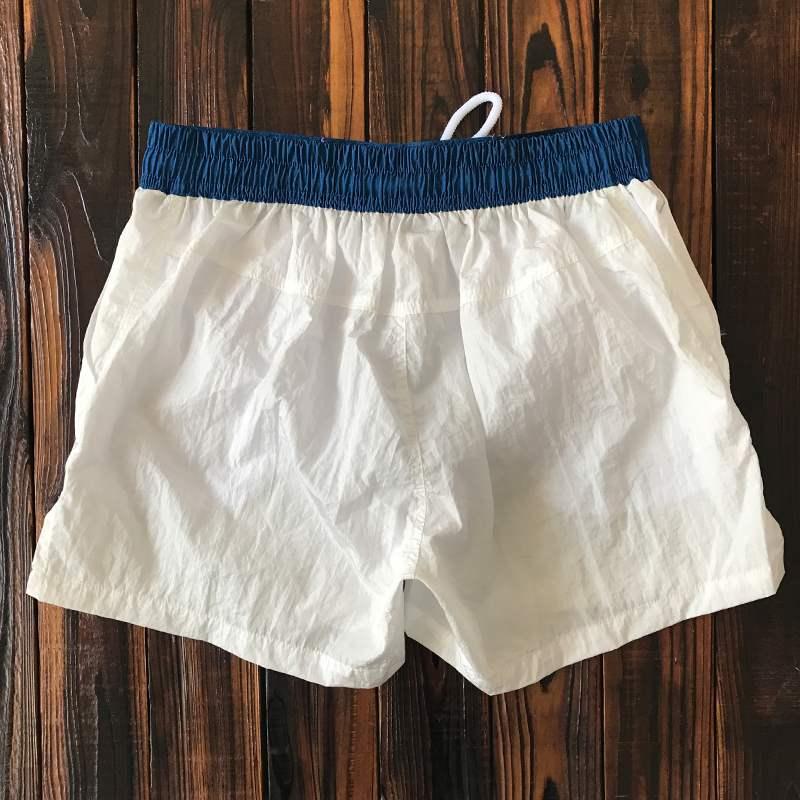 Beach pants mens loose beach vacation quick dry 3 / 3 shorts with lining surf shorts beach swimming pants
