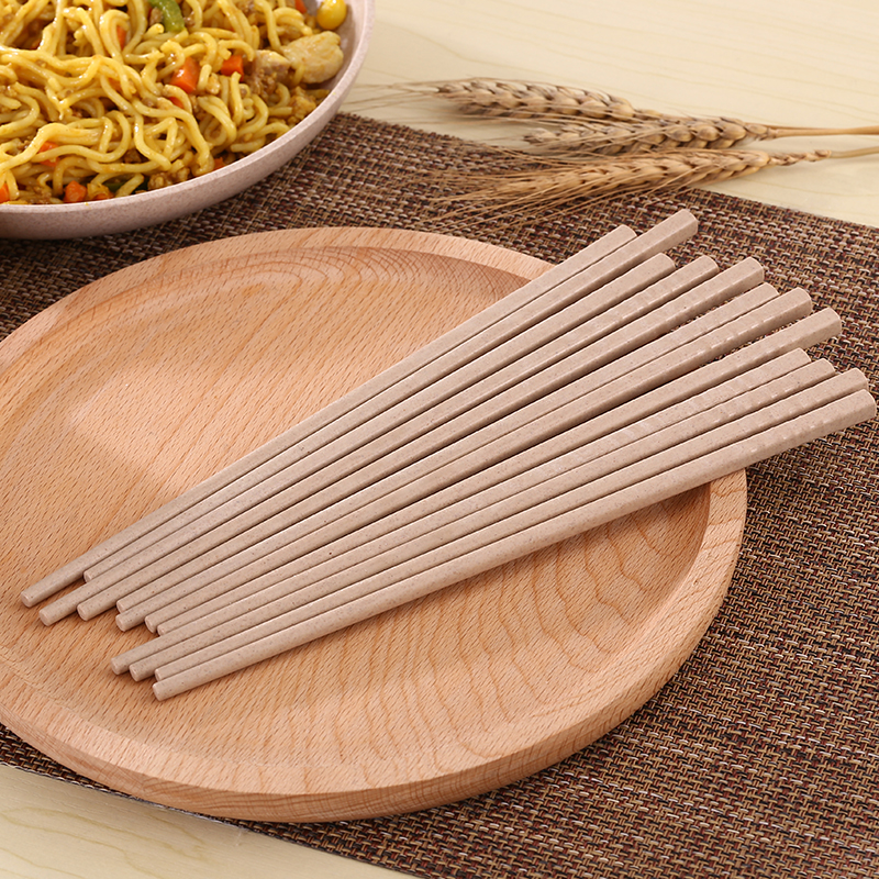 Wheat straw household chopsticks health and environmental protection