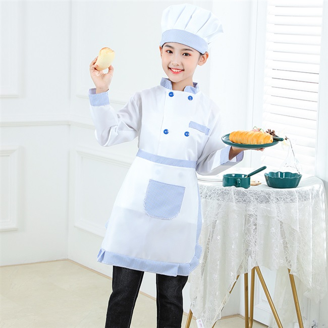 儿童厨师服套装幼儿园烘焙小厨师服装幼儿厨师衣服角色区扮演小孩